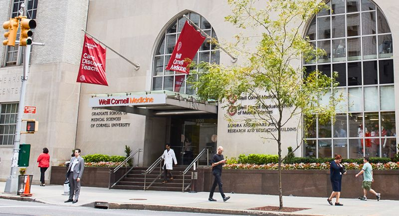 Weill Cornell Faculty Research Appointments